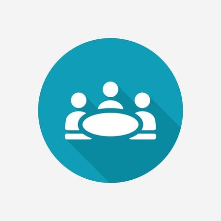 negotiations: Negotiations vector icon