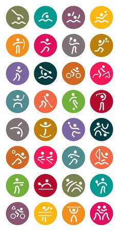 sports vector: Sports Vector Icon Set