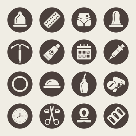 Empfängnisverhütungssymbole