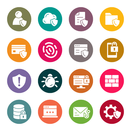 Data security icons