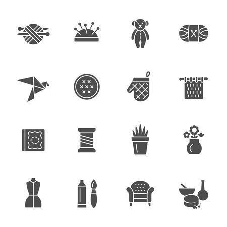 Craft hobby icons