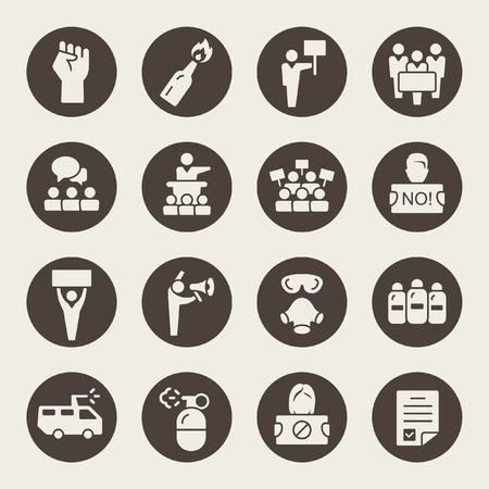 Potest icons Illustration