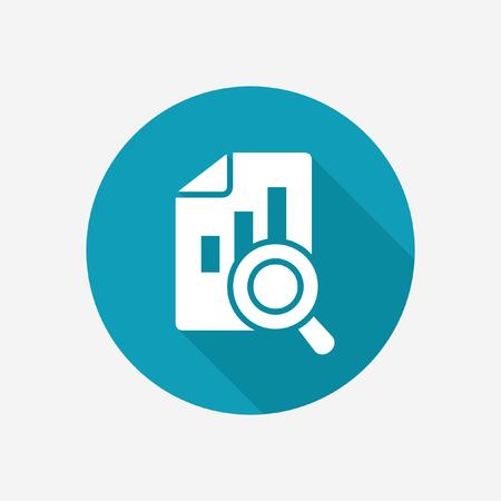 Data analytics icon Illustration
