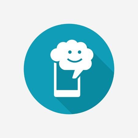 Mobile ai icon