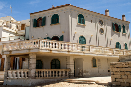commissioner: The Montalbanos House from the famous italian fiction Stock Photo