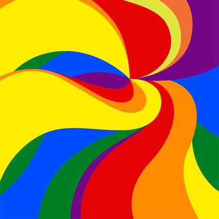 Vector background.Pride Movement in both color and dimensions. eps, jpg