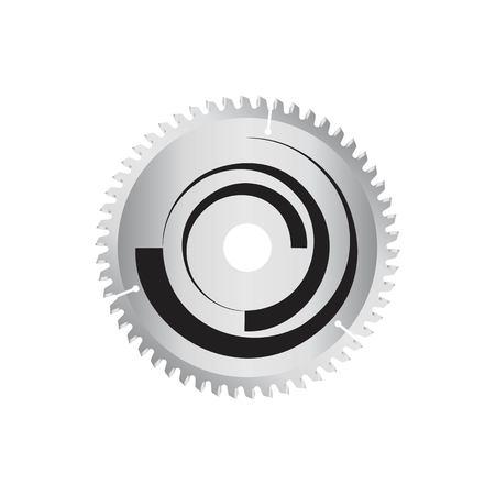 Cirkelzaag schijf. object geïsoleerde Stockfoto - 68099773