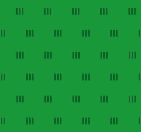 Vector seamless background. green grass texture Illustration