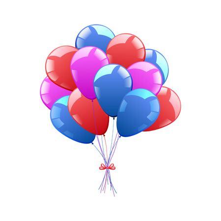 Vector icon. Balloons. Festive decor 向量圖像