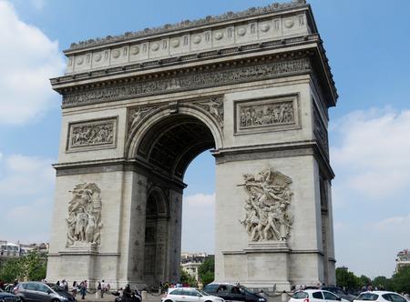 Paris Arc de Triomphe Reklamní fotografie