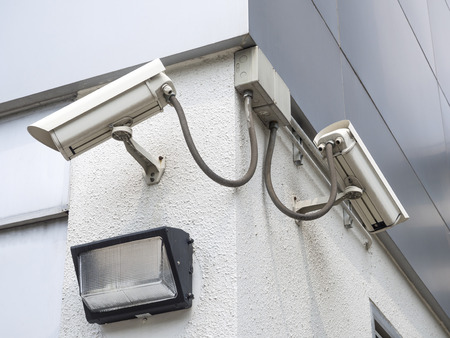 monitoring system: cctv installed outdoor to protect security and surveillance system