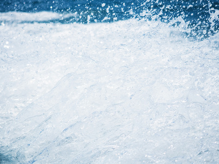 thousandth: splash of the clear sea water in high speed photo of one eight thousandth a second Stock Photo