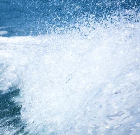 thousandth: splash of the clear sea water in high speed photo of one ten thousandth a second