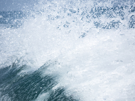 thousandth: splash of the clear sea water in high speed photo of one ten thousandth second