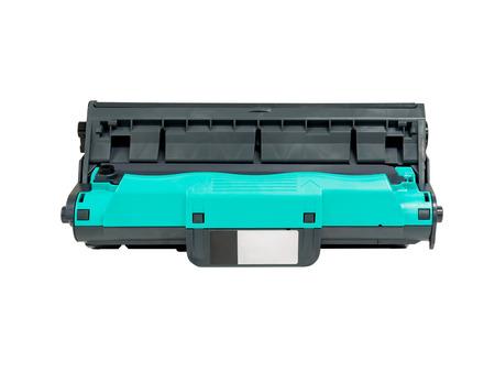 printer cartridge: drum cartridge for laser printer isolated on white background