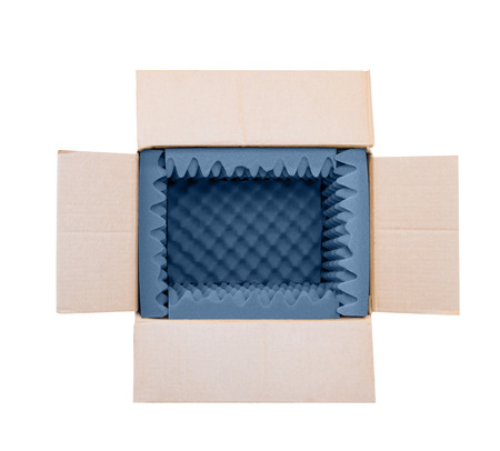 soft foam for protective purpose in transportation of equipment in cardboard box