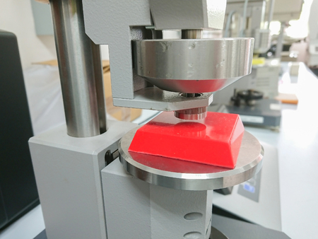 haraness tester equipment for scientific reserch in physics laboratory, precision rockwell test