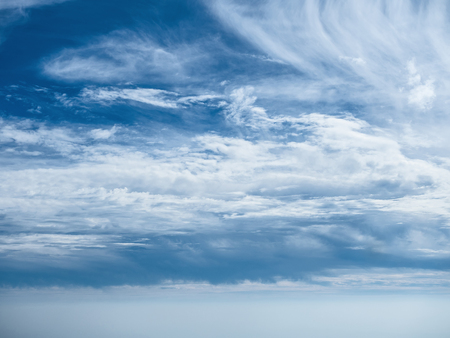 abstract background exterior view looking toward to the cloud on blue sky with full of light Stok Fotoğraf