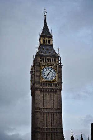 Cloudy Big Ben Reklamní fotografie