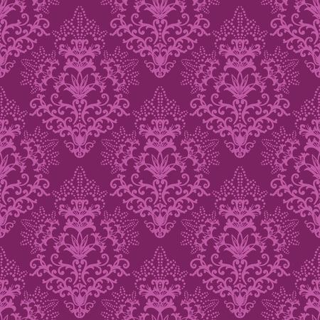 amazing wallpaper: Senza saldatura sfondi floreali fucsia o carta da imballaggio
