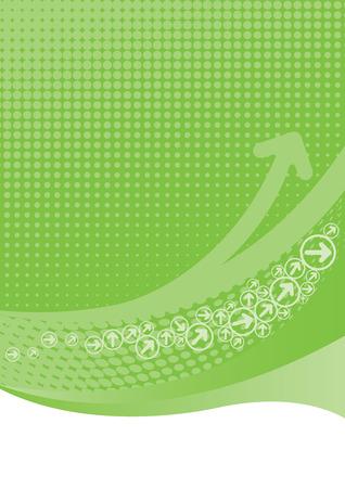 Limoen groene achtergrond met halftonen