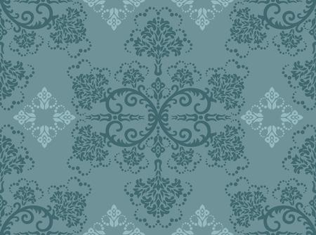 papel tapiz turquesa: Papel tapiz floral de turquesa transparente