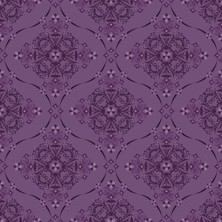 Seamless luxury floral pattern Illustration