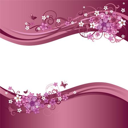 Twee roze appeltje grenzen