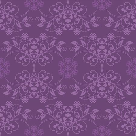 Mooie naadloze paarse achtergrond Stock Illustratie
