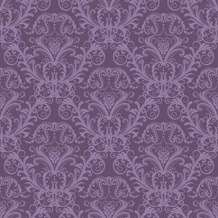 to continue: Sin problemas de papel tapiz floral p�rpura Vectores