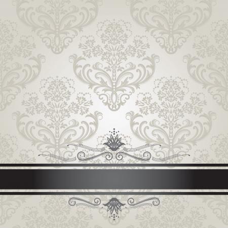 Luxe bloemen zilver en zwart cover van het boek