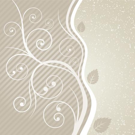 Luxe gouden bloemen wervelingen en laat ontwerp