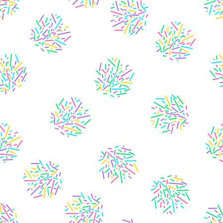 Memphis seamless pattern 80s-90s style. Trendy memphis style. Colorful geometric background. Hipster style.Colorful geometric seamless pattern different shapes color style.Print for fabric, textile