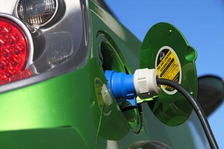 coche eléctrico repostar con poder