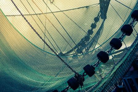 redes de pesca: Barco de pesca