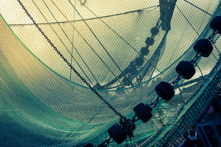 Vissersboot Stockfoto