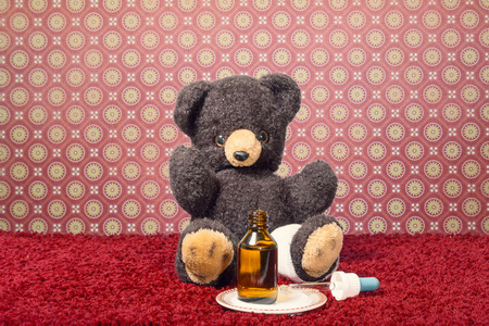 Teddy get well