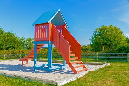 Cheerful playground