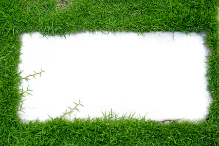 message box: lawn message box white background Stock Photo