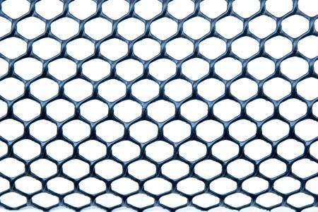 nylon: black nylon net texture
