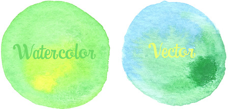 lime green: Lime green,Yellow,Watercolor texture painted on the white background Illustration