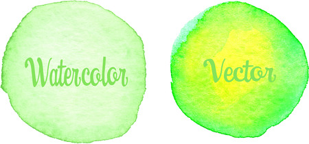 lime green: Lime Green Watercolor texture painted on the white background Illustration