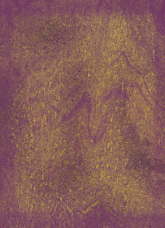 Creative hand made gilded texture on the red purple background. Stok Fotoğraf