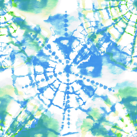 crafty: Handmade seamless tie dye texture pattern for creative project.