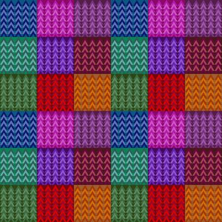 color vector flower for patterns, patchwork, hodgepodge, jumble, knitting Vektorgrafik