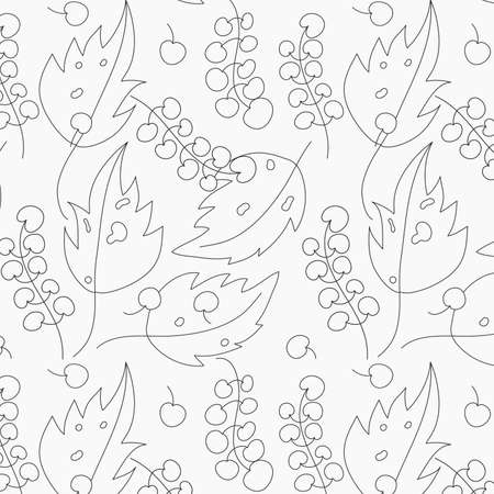 Monochrome image. Template for greeting card, invitation, diploma, textile. Vector illustration in retro style