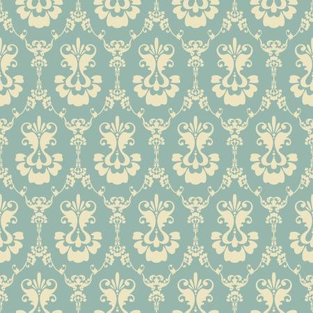 Seamless damask pattern. Ornamental background with pattern Stock Illustratie