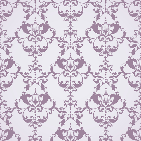 Seamless damask pattern. Ornamental background with lace pattern Stock Illustratie