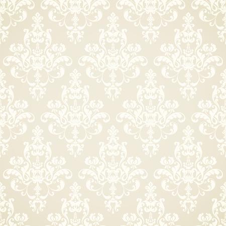 Damask pattern design