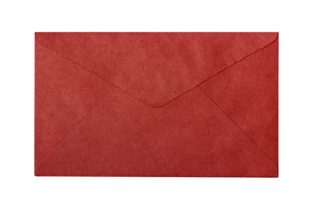 Red envelope - backside with space for text photo